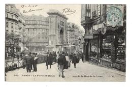 75 PARIS - 10ème, La Porte Saint-Denis Vue De La Rue De La Lune - Arrondissement: 10