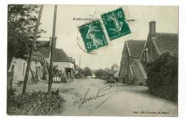 Mars Sur Allier, Route De Chateauneuf (atelier De Charron à Gauche ) Circulé - Autres Communes