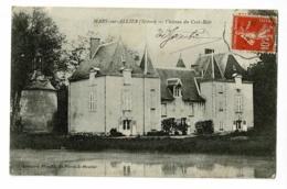 Mars Sur Allier - Château Du Crot-Noir - Circulé 1912 - Autres Communes