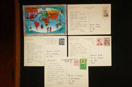 5 CP Publicité Croisière AMORA 1972 Canada , Norvege, Japon, Turquie Et Belgique ((idem Ionyl Dear Doctor ) - Food