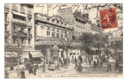 75 PARIS - 10ème, Le Théâtre Du Gymnase Et Le Boulevard Bonne-Nouvelle - Arrondissement: 10