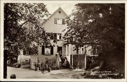 Cp Waldulm Kappelrodeck Im Schwarzwald, Gasthaus Zur Krone, Dreirad - Otros