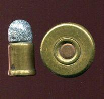 Une Cartouche Ancienne 9 Mm Pour Revolver GALAND -  Amorçage GAUPILLAT - Armi Da Collezione