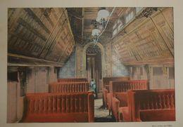 Canadian Pacific Railway. Intérieur D'un Sleeping-car. Photogravure Fin XIXe. - Stampe & Incisioni
