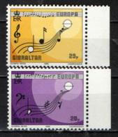GIBILTERRA - 1985 - EUROPA: ANNO EUROPEO DELLA MUSICA - SIMBOLI MUSICALI - MNH - Gibraltar