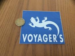 AUTOCOLLANT, Sticker «VOYAGER'S» (lézard) - Adesivi
