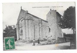 SAINT SULPICE LAURIERE (87) L'Eglise Vue De Coté - France