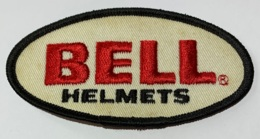Bell Helmets. Casques Bell. Ecusson Badge En Tissu Brodé. - Patches