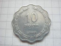 Israel , 10 Pruta 1952 - Israel