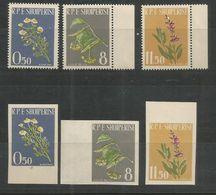 ALBANIA - MNH - Plants - Flowers - Perf. + Imperf. - Pflanzen Und Botanik