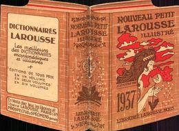 Calendrier, Nouveau Petit Larousse, 1937       (bon Etat) - Kalenders