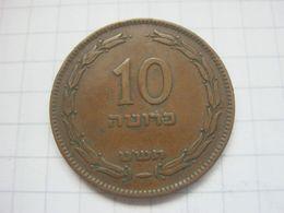 Israel , 10 Pruta 1949 - Israel