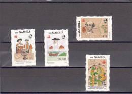 Gambia Nº 734 Al 737 - Gambie (1965-...)