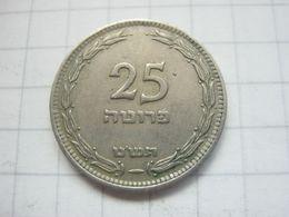 Israel , 25 Pruta 1949 - Israel
