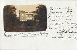 SAINT MARTIN DU PUY (58) Carte Photo Chateau Des Granges - Autres Communes