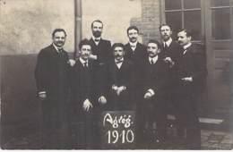 ** Carte Photo 1910 ** ENSEIGNEMENT ECOLES - 75 PARIS - AGREG. 1910 (Agrégation) Manque Précisions Dont La Section ... - Enseignement, Ecoles Et Universités