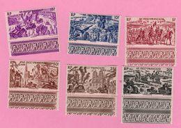 A. O. F. - Afrique Occidentale Française - Colonie Française 1946 - PA 5 à 10 - 6 Timbres - Africa (Other)