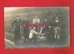 1 Carte Photo ... Travaux Ligne De Chemin De Fer - A Identifier