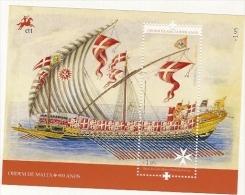 Portugal ** & 900 Anos Da Ordem De Malta, Barca Do Grão Mestre Pinto Da Fonseca 2013 - Blocks & Kleinbögen