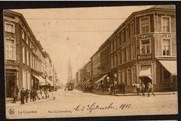 La Louvière - Rue Du Commerce - Circulée En 1911 - Edit. Nels Série La Louvière N° 6 - 2 Scans - La Louvière
