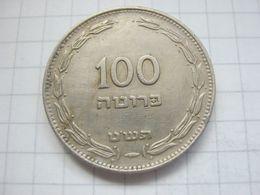Israel , 100 Pruta 1949 - Israel