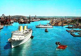 Bateau FERRY Boat - Port  - Goteborg - 1960/70s - Norwegen