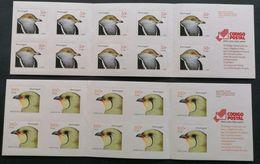 Portugal 2001 Birds Booklets M.N.H. POSTAGE EXTRA - 1910-... République