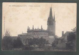 CPA - 35 - Châteaubourg - Eglise Vue De Côté - Frankreich