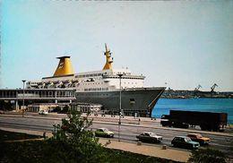 """Bateau FERRY Boat - Port Oslo """"KRONPRINS HARALD""""    - 1960/70s - Norwegen"""