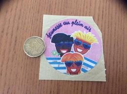 AUTOCOLLANT, Sticker «jeunesse Au Plein Air 5F» 1988 - Adesivi