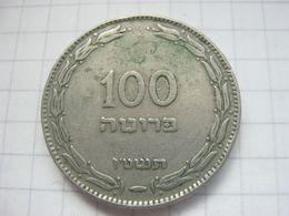 Israel , 100 Pruta 1955 - Israel