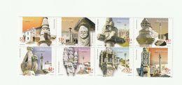 Portugal - 2001 - Bloc Feuillet De 8 Timbres Pelourinhos De Portugal  Neufs ** / MNH - Blocks & Kleinbögen