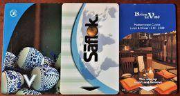 HOTELS ROOM KEY - HOTEL CARD: SHERATON CASABLANCA-RABAT-HILTON MALTA - Hotel Keycards