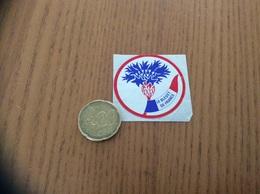 AUTOCOLLANT, Sticker ** «LE BLEUET DE FRANCE» - Adesivi