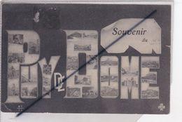 Souvenir Du Puy De Dôme (63)carte Illustrée De Multivues - Unclassified