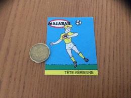 AUTOCOLLANT, Sticker, Chromo «MALABAR - TÊTE AÉRIENNE (football)» - Adesivi