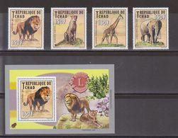 Tschad - 2012 Einheimische Säugetiere Lions Club - 2 Scans ** - Unclassified