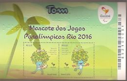Brazil  ** & Tom, Paralympic Games Mascot, Rio 2016 Olympics (3442) - Verano 2016: Rio De Janeiro