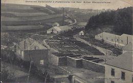 Luxembourg - Luxemburg  - Carte - Karte - Obermosel Dachschiefer & Plattenwerke Von Gebr. Rother Obermartelingen 2 Scans - Cartoline