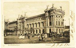 2266  - Espagne - BARCELONA  :   ADUANA    Circulée En 1901 Carte Du Collectionneur A.P.N... 870  --TRES.RARE - Barcelona