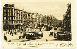 2267 - Espagne -  BARCELONA  :   RAMBLA  De CANALETAS  - Circulée En 1901 - Carte Du Collectionneur A.P.N.870 - RARE - Barcelona