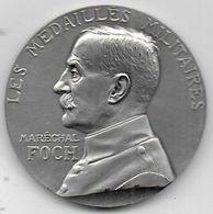 Maréchal FOCH - Médaille En Argent 1er Titre - Médailles & Décorations