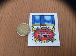 AUTOCOLLANT, Sticker, Chromo «Néstlé - GRAND ORDRE DES GÉNIES» (médaille) - Adesivi