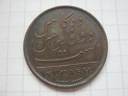 India - British  , 10 Cash 1808 (Madras) - Kolonien