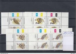 Bophutatswana Michel Cat.No.  Mnh/** 112/115 Cylinder Blocs  Birds - Bophuthatswana