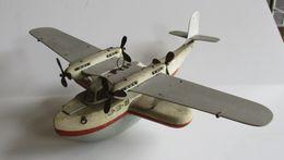 Avion Artisanal Des Années 50 - Jouets Anciens