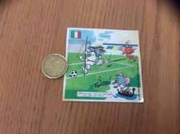 AUTOCOLLANT, Sticker, Chromo 1985 «VACHE Grosjean - TOM ET JERRY - ITALIE» (football) - Adesivi