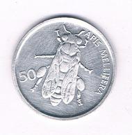 50 STOTINOV 1996 SLOVENIE /5343/ - Slovenia
