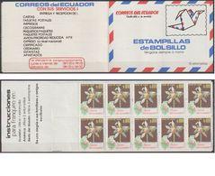 Ecuador 1990 MH Flowers ** Postfr.( A 3066 ) Günstige Versandkosten - Ecuador