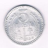 5 LEI 1978 ROEMENIE /5345/ - Roumanie
